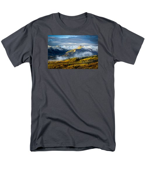 Castle In The Clouds Men's T-Shirt  (Regular Fit) by Phyllis Peterson