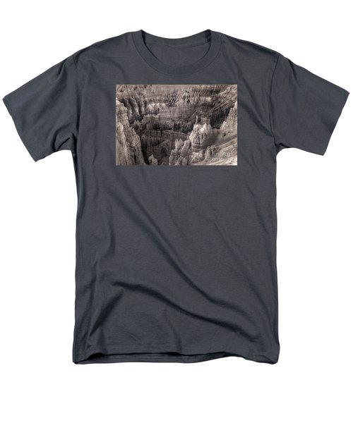 Men's T-Shirt  (Regular Fit) featuring the digital art Castles Made Of Sand In The Hoodoos  by William Fields