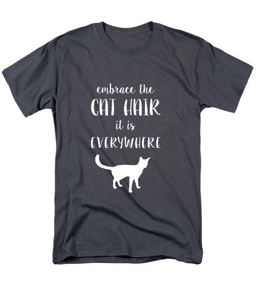 Cat Hair Men's T-Shirt  (Regular Fit)