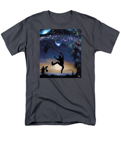 Catch The World Men's T-Shirt  (Regular Fit)
