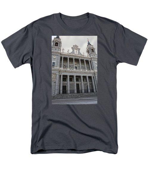 Men's T-Shirt  (Regular Fit) featuring the photograph Catedral De La Almudena 2 by Angel Jesus De la Fuente