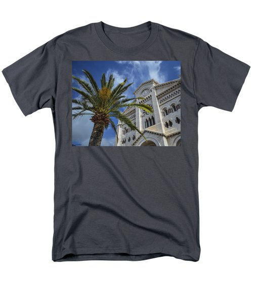 Men's T-Shirt  (Regular Fit) featuring the photograph Cathedral At Monte Carlo by Allen Sheffield