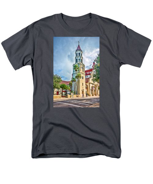 Men's T-Shirt  (Regular Fit) featuring the photograph Cathedral Basilica by Anthony Baatz