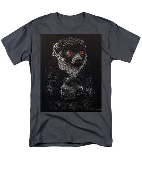Catherina And Baby Abby Men's T-Shirt  (Regular Fit) by Linda Becker