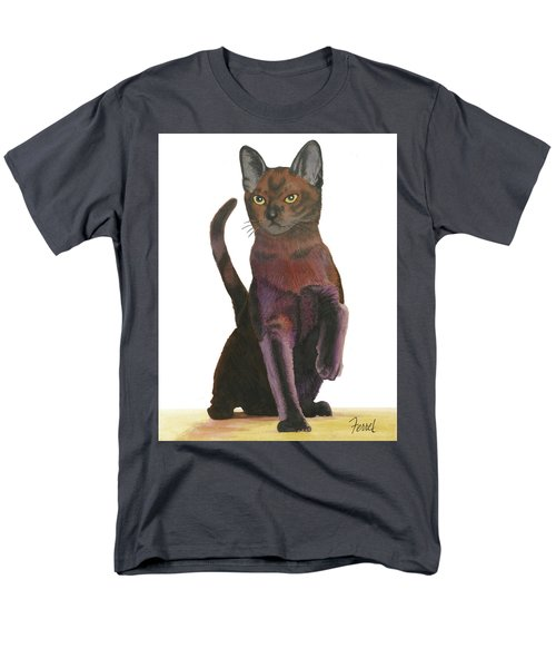 Cats Meow Men's T-Shirt  (Regular Fit) by Ferrel Cordle