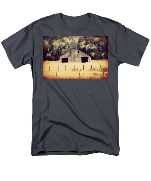 Men's T-Shirt  (Regular Fit) featuring the photograph Hwy 3 Barn by Julie Hamilton
