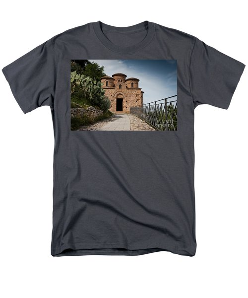 Men's T-Shirt  (Regular Fit) featuring the photograph Cattolica Di Stilo by Bruno Spagnolo