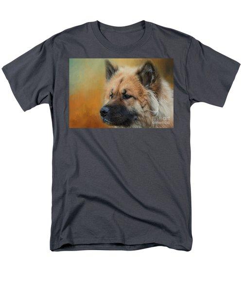 Caucasian Shepherd Dog Men's T-Shirt  (Regular Fit) by Eva Lechner