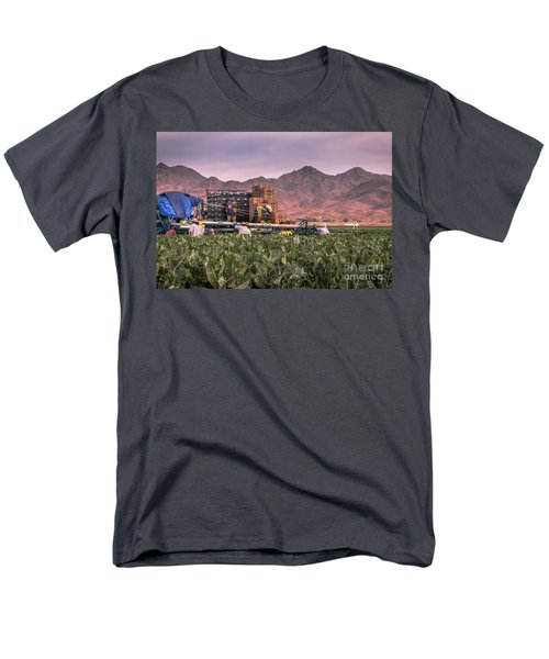 Cauliflower Harvest Men's T-Shirt  (Regular Fit) by Robert Bales