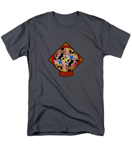 Celebrity Shapes Men's T-Shirt  (Regular Fit)