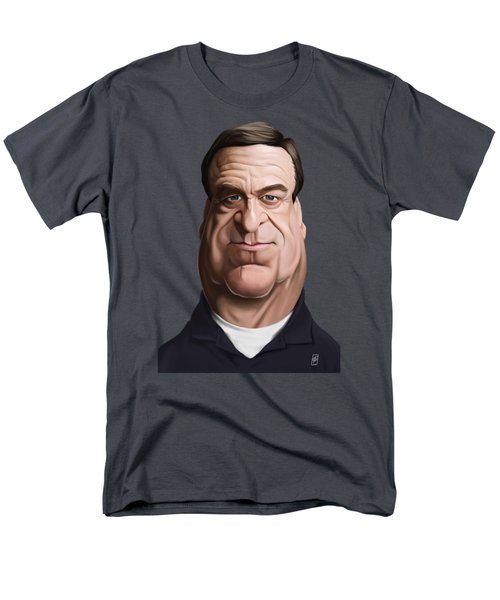 Men's T-Shirt  (Regular Fit) featuring the drawing Celebrity Sunday - John Goodman by Rob Snow