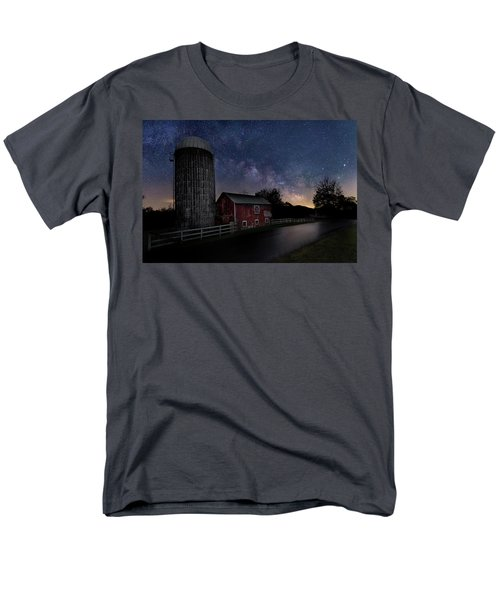 Men's T-Shirt  (Regular Fit) featuring the photograph Celestial Farm by Bill Wakeley
