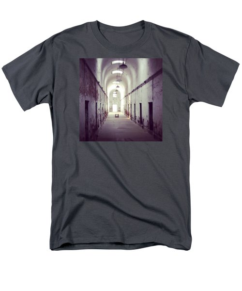 Cell Block Eastern State Penitentiary Men's T-Shirt  (Regular Fit) by Sharon Halteman