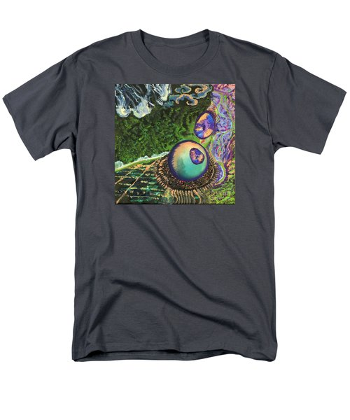 Cell Interior Microbiology Landscapes Series Men's T-Shirt  (Regular Fit) by Emily McLaughlin