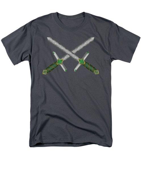 Celtic Daggers Men's T-Shirt  (Regular Fit) by Kristen Fox