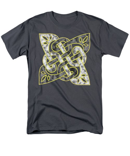 Celtic Dark Sigil Men's T-Shirt  (Regular Fit) by Kristen Fox