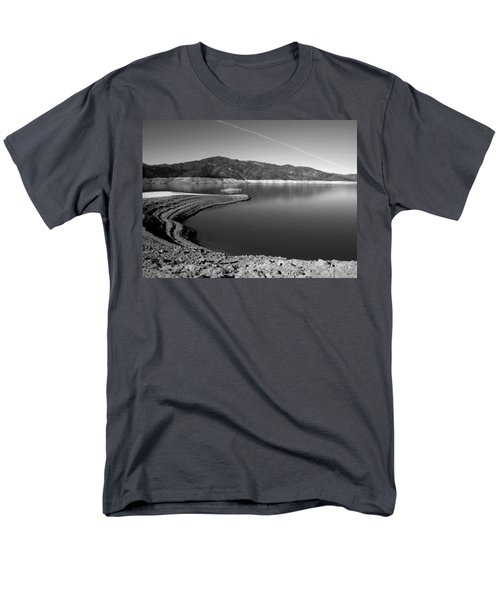 Men's T-Shirt  (Regular Fit) featuring the photograph Centimudi In Black And White by Joyce Dickens