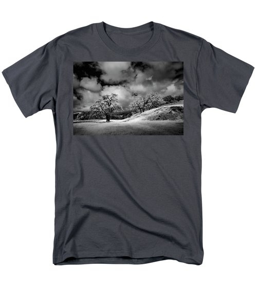 Men's T-Shirt  (Regular Fit) featuring the photograph Central California Ranch by Sean Foster