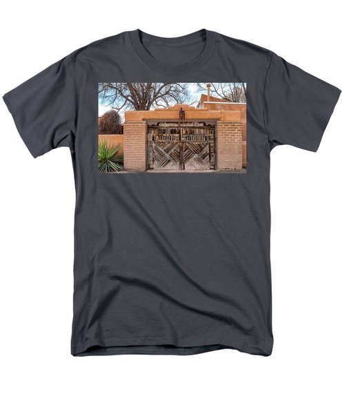 Cerrillos Gate Men's T-Shirt  (Regular Fit) by Robert FERD Frank