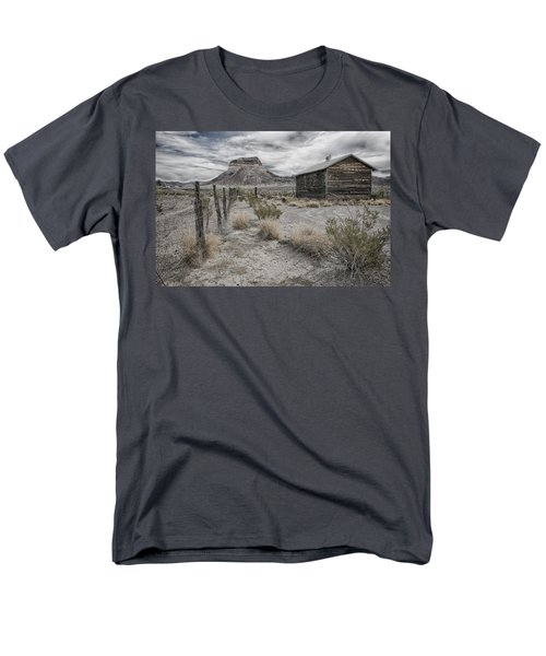 Cerro Castellan - Big Bend  Men's T-Shirt  (Regular Fit) by Kathy Adams Clark