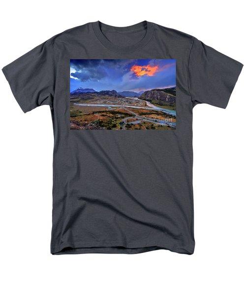 Chalten-03 Men's T-Shirt  (Regular Fit) by Bernardo Galmarini
