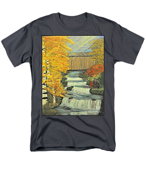 Chambers Covered Bridge  Men's T-Shirt  (Regular Fit)