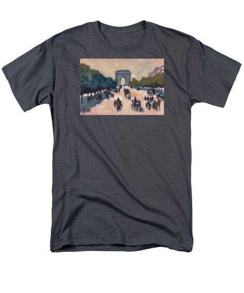 Champs Elysees Paris Men's T-Shirt  (Regular Fit) by Nop Briex