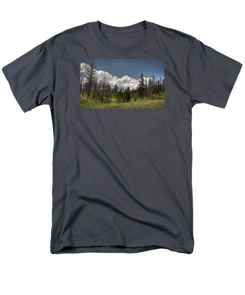 Men's T-Shirt  (Regular Fit) featuring the photograph Chance Of Clouds by Deborah Klubertanz