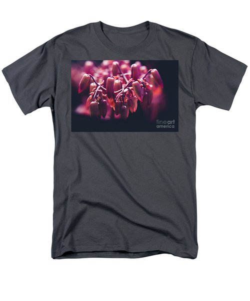 Chandelier Plant Kalanchoe - A Solitary Morning Men's T-Shirt  (Regular Fit) by Sharon Mau