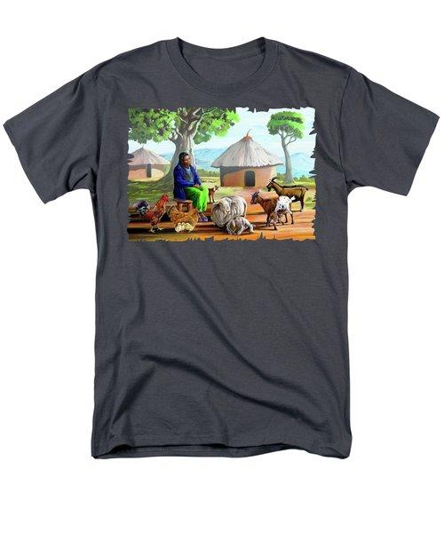 Change Of Scene Men's T-Shirt  (Regular Fit) by Anthony Mwangi
