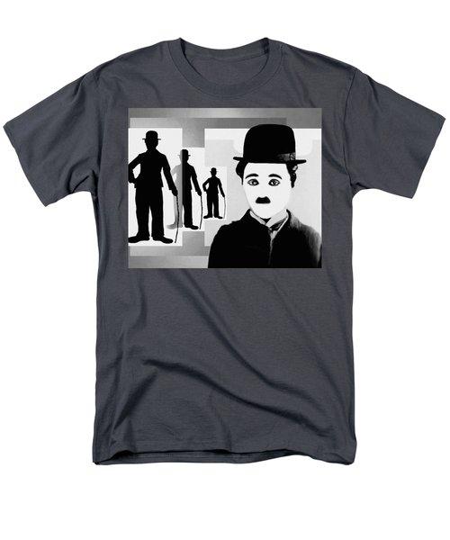 Chaplin, Charlie Chaplin Men's T-Shirt  (Regular Fit) by Hartmut Jager