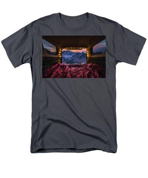 Chasing Sunset Men's T-Shirt  (Regular Fit) by Alpha Wanderlust