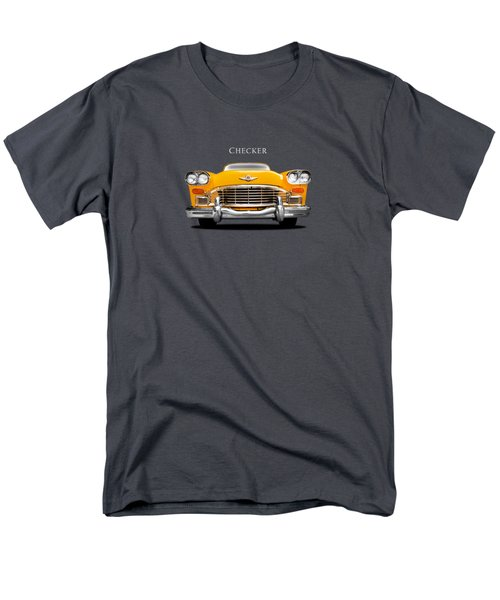 Checker Cab Men's T-Shirt  (Regular Fit) by Mark Rogan