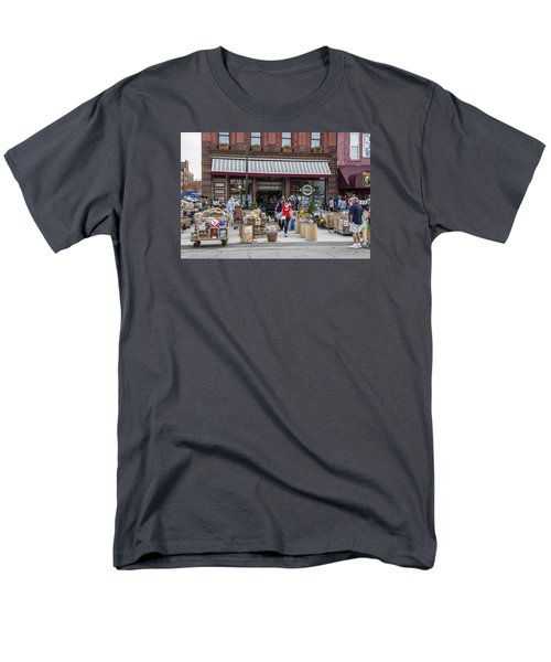 Cheese Shop In Detroit  Men's T-Shirt  (Regular Fit) by John McGraw