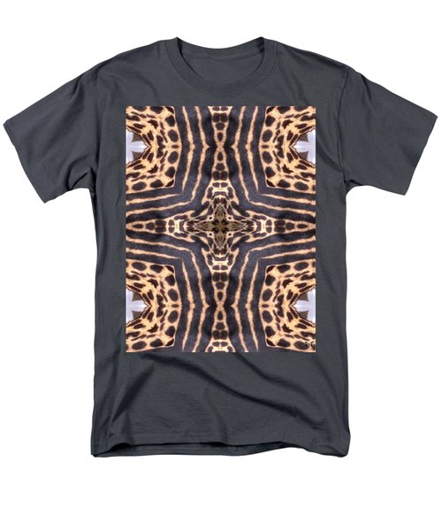 Cheetah Cross Men's T-Shirt  (Regular Fit) by Maria Watt