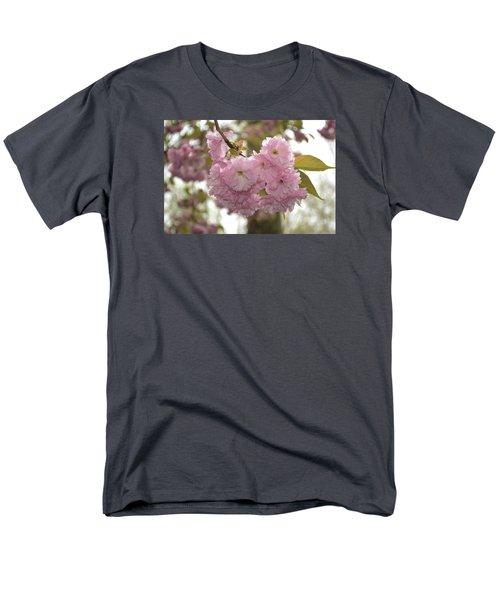 Cherry Blossoms Men's T-Shirt  (Regular Fit) by Linda Geiger
