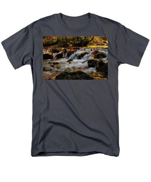 Men's T-Shirt  (Regular Fit) featuring the photograph Cheyenne Canyon Autumn by Ellen Heaverlo