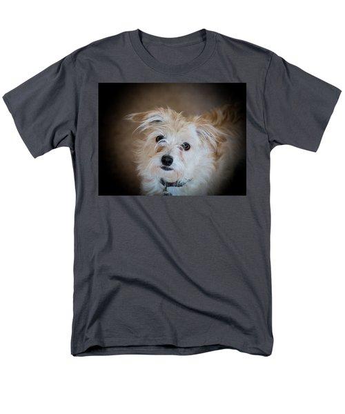 Chica On The Alert Men's T-Shirt  (Regular Fit) by E Faithe Lester