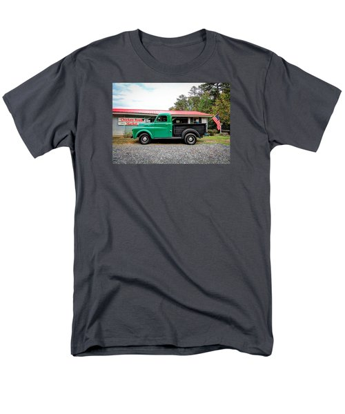 Men's T-Shirt  (Regular Fit) featuring the photograph Chicken Road Market by Marion Johnson