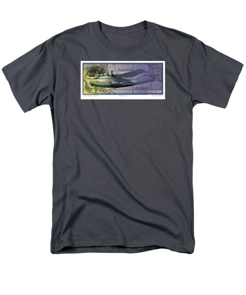 China Clipper Chasing The Sun Men's T-Shirt  (Regular Fit) by Kenneth De Tore