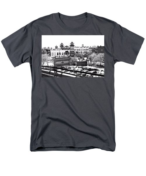 Chinatown Chicago 4 Men's T-Shirt  (Regular Fit) by Marianne Dow