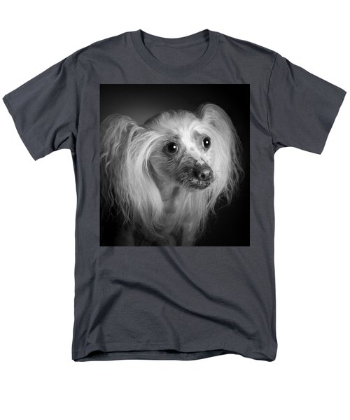 Men's T-Shirt  (Regular Fit) featuring the photograph Chinese Crested - 04 by Larry Carr