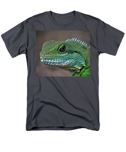 Men's T-Shirt  (Regular Fit) featuring the photograph Chinese Water Dragon by Savannah Gibbs