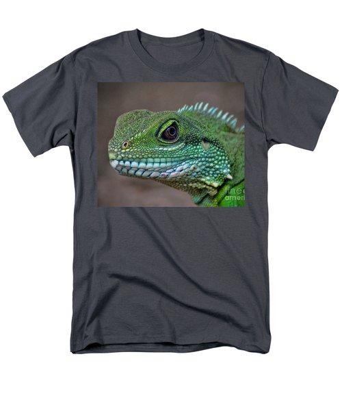 Chinese Water Dragon Men's T-Shirt  (Regular Fit) by Savannah Gibbs