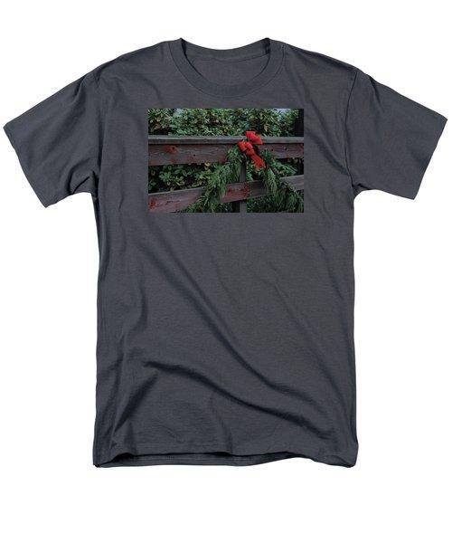 Christmas Colors Men's T-Shirt  (Regular Fit) by John Rossman