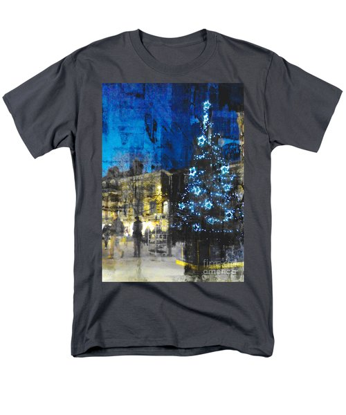 Christmas Eve Men's T-Shirt  (Regular Fit) by LemonArt Photography