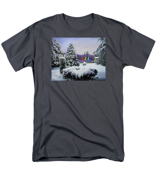Silent Night Men's T-Shirt  (Regular Fit) by Richard Barone