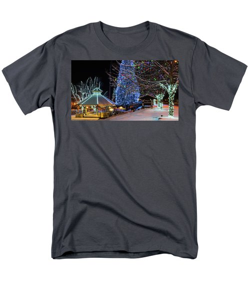 Men's T-Shirt  (Regular Fit) featuring the photograph Christmas In Leavenworth by Dan Mihai