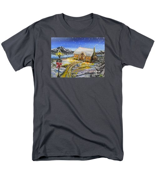 Christmas On The Bay Men's T-Shirt  (Regular Fit) by Kevin F Heuman