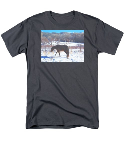 Christmas Roan El Valle I Men's T-Shirt  (Regular Fit) by Anastasia Savage Ealy